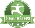 health steps wellness logo