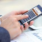 MBA Mobile Phone App