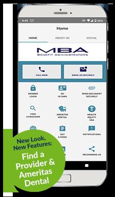 MBA Mobile App