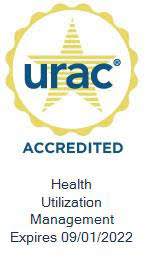 URAC Accredited Badge