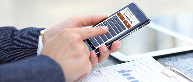 Download the MBA Mobile Phone App