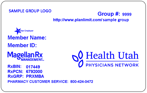 Sample ID Card Front